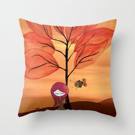 Story to tell Throw Pillow