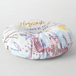 Hogwarts will always Floor Pillow