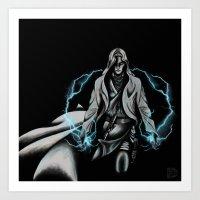 jedi Art Prints featuring Jedi by ED Art Studio