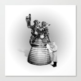 Rocket Scientist Canvas Print