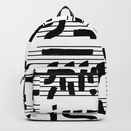 Fragments of Rhizome Paths no. 4 Backpack
