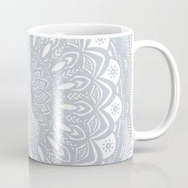 Cool Gray Mandala Simplistic Bold Minimal Minimalistic Coffee Mug