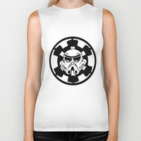 trooper Biker Tanks featuring Trooper by Ana Amorim