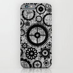 Grunge Cogs. Slim Case iPhone 6s