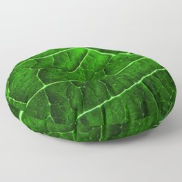LEAF STRUCTURE GREENERY no2 Floor Pillow