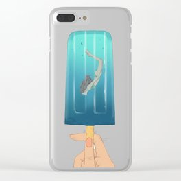 Popsicle Dive Clear iPhone Case