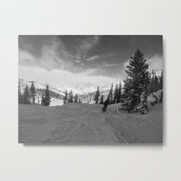 The Approach Metal Print