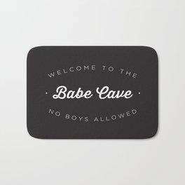 The Babe Cave Bath Mat