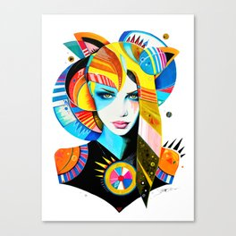 -Native Girl- Canvas Print