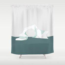 ISBJERG #04 Shower Curtain