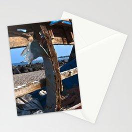 OLD WRECK of GIARDINI NAXOS at SICILY - SICILIA BEDDA Stationery Cards