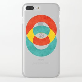 Double Vision Clear iPhone Case