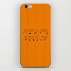 Remember - Orange is the New Black iPhone & iPod Skin