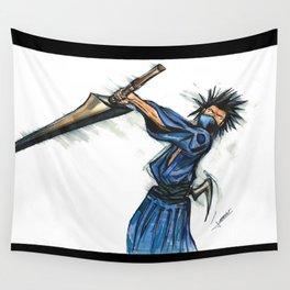 Magatsu, Samurai by Lebeau Wall Tapestry