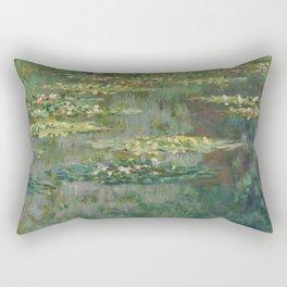 """Claude Monet """"Le Bassin des Nympheas"""", 1904 Rectangular Pillow"""