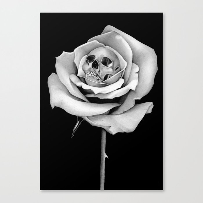 Beauty & Death Canvas Print