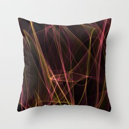 Summer lines 28 Throw Pillow