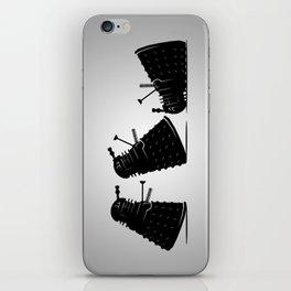 Go Home Dalek You're Drunk iPhone Skin