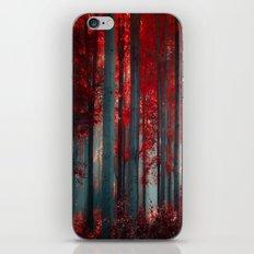 Magical trees iPhone & iPod Skin