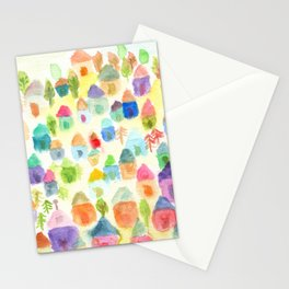 Village of Thousand House Stationery Cards