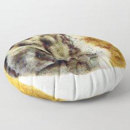 Rotting lemon Floor Pillow