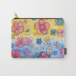 Static Smiles Carry-All Pouch