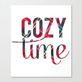 Cozy Time Canvas Print