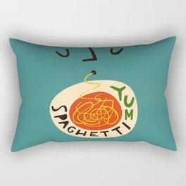 Yum Spaghetti Rectangular Pillow