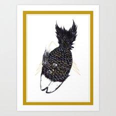 《魚蘿果的食素夢》—魚蘿果 Art Print