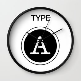 Type A Wall Clock