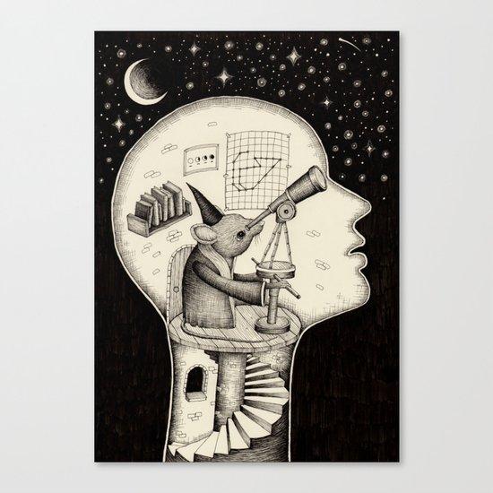 'Observatory' Canvas Print