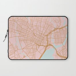 New Haven map, Connecticut Laptop Sleeve