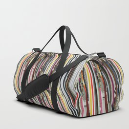 Origami Girl Duffle Bag