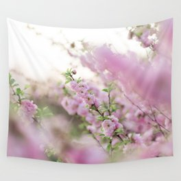 Spring in Pink #2 Wall Tapestry