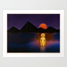 Mindscape Transcendence  Art Print