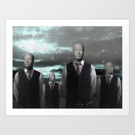 Be simple. Be different. Art Print