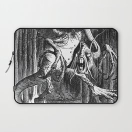 Jabberwocky Illustration from Alice in Wonderland Laptop Sleeve
