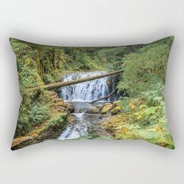 Dutchman Falls - Columbia River Gorge Oregon Rectangular Pillow