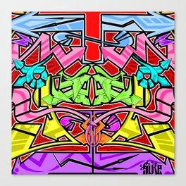 Abstract Arrows Canvas Print