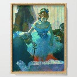 """Edgar Degas """"Dancer In Her Dressing Room"""" Serving Tray"""