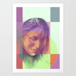 Margriet 07 Art Print