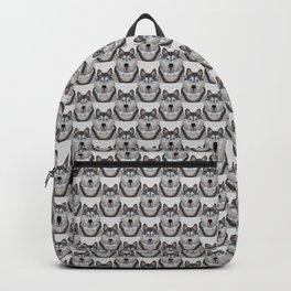 Happy Husky Backpack