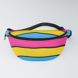 Pansexual Pride Flag Rainbow Fanny Pack