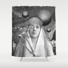 SOMEPLACE IN-BETWEEN Shower Curtain