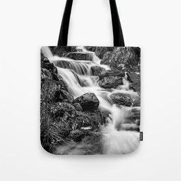 Winter Rapids Tote Bag