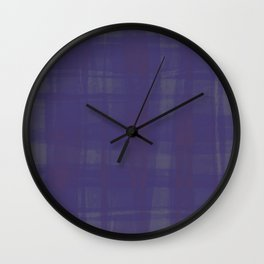 Thinly Veiled Royalty Wall Clock