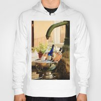 wine Hoodies featuring Wine Cooler  by Phil Smyth