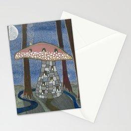 Mushroom Cottage Number 8 Stationery Cards