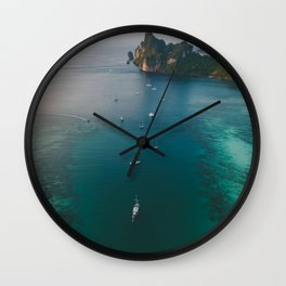 Body Of Water Wall Clock