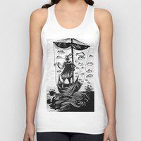 voyage Tank Tops featuring Voyage by Daizy Boo
